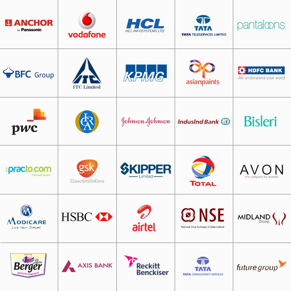 Globsyn Placement  Companies2014-15 Anchor Electricals Private Limited, Vodafone India, HCL Infosystems, Tata Teleservices, Pantaloons, BFC Forex (Bahrain), ITC Limited(Tobacco), KPMG, Asian Paints, HDFC Bank, PWC, ICRA, Johnson & Johnson Ltd, Indusind Bank, Bisleri International, Practo Technologies, Glaxo Smithkline, Skipper Limited, Total Oil, Avon, Modicare, HSBC, Airtel, NSE, Midland Group Dubai